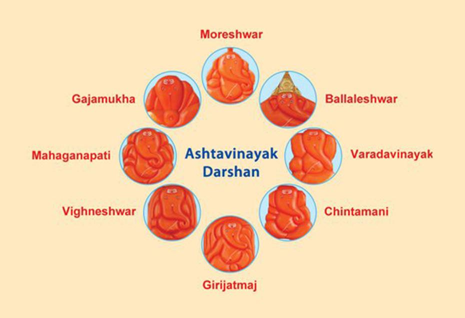 ashtavinayak darshan pune